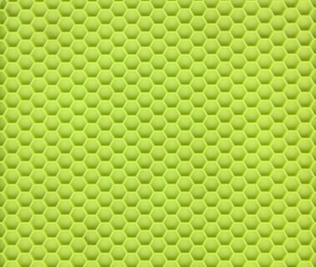 silicon: Primer plano de un material de silicio verde