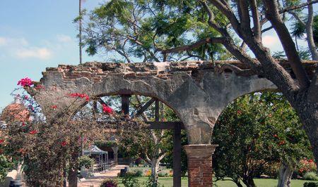 archways: Old spanish mission archways
