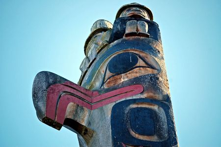 northwest: Pacific northwest totem pole