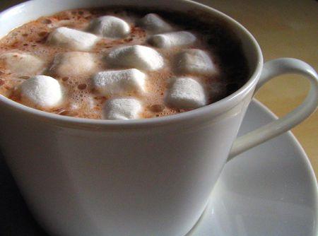 Creamy cocoa Stock Photo