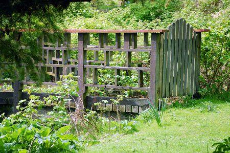Old gate on farm Stock Photo - 3199219