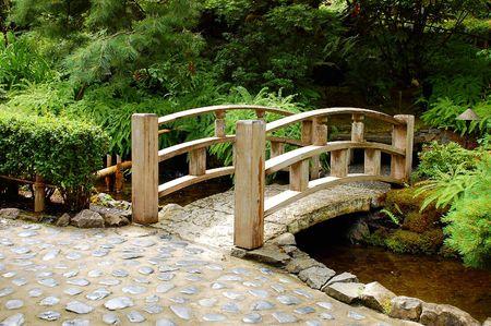 Wooden bridge 写真素材