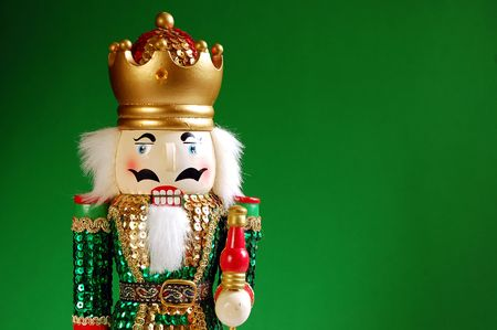 Nutcracker in green
