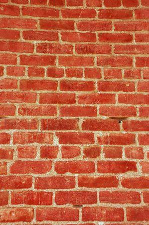 Old rustic brick wall Imagens