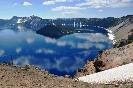 crater lake: Crater Lake, Oregon, USA