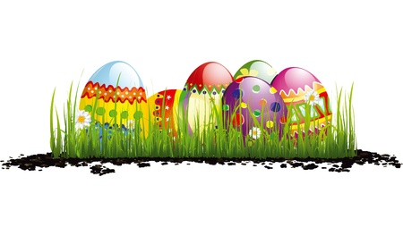 Easter Eggs Standard-Bild - 10983160