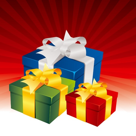 Gift boxes Stock Vector - 11031503