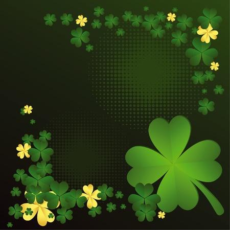 Saint Patrick background Illustration