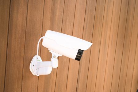 New project to install CCTV cameras for lifes disasters. Safety concept.