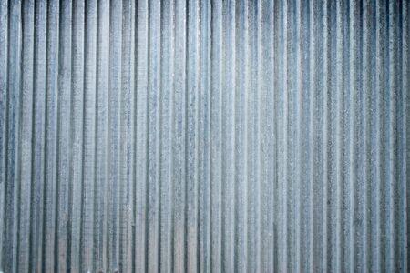 Antiguo extracto de zinc. Vista de fondo vintage de zinc.