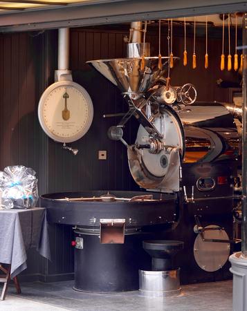 vue d'un torréfacteur de café
