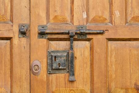 door latch of an historical door