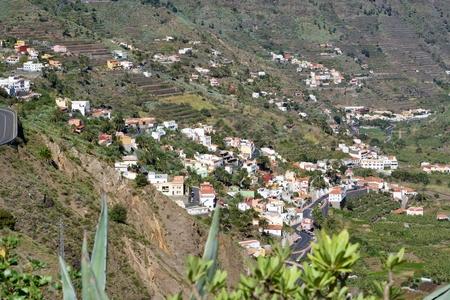 Houses of El Retamal at La Gomera