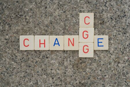 CHANGE includes after a while a CHANCE