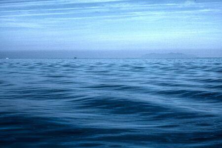 Atmosphère de dépression au-dessus de l'océan
