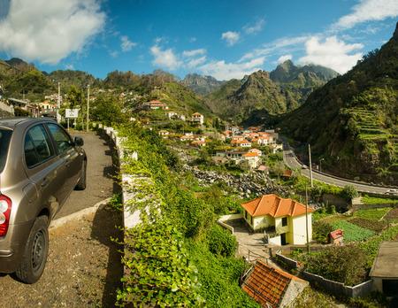 Serra De Agua, Madeira, Portugal  Mountain village view photo
