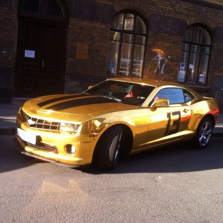 gold: Chevrolet Camaro Gold 13