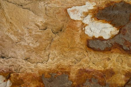 cleave: Step Texture on Sandstone in my garden