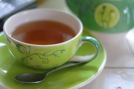 potation: my affternoon tea time in a Friday.