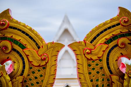 Udon Thani, THAILAND - November 10, 2016: Thai temple art architecture  in Udon Thani ,Thailand. Photo taken on: 10 November , 2016