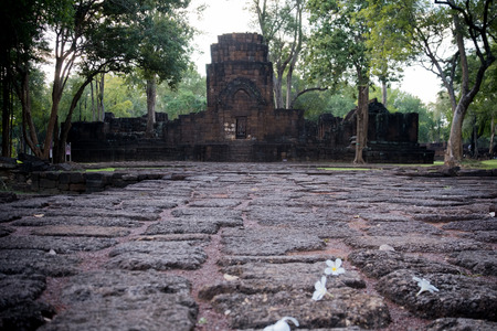 Is a historical park in the Sai Yok district, Kanchanaburi province, Thailand. The remains of two Khmer temples date to the 13th and 14th century. It was declared a historical park in 1987. Built in the Bayon style, the temple relates to the Khmer kingdom