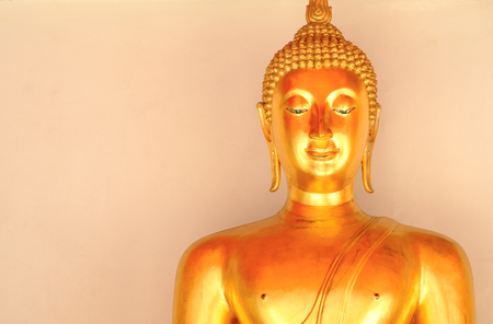 Images of Buddha at Wat Pho or Wat Phra Chetupon Vimolmangklararm, Bangkok, Thailand