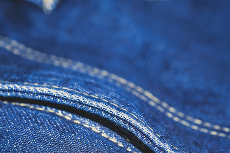 Denim texture  surface or denim jeans background. Stock Photo