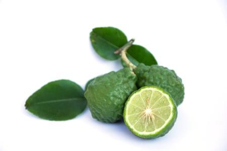 asian produce: Bergamot Stock Photo