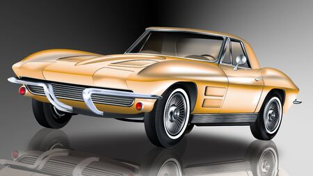 American famous classic cars