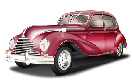 Passenger car EMW, DDR classic car, optional Reklamní fotografie
