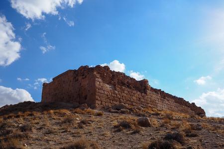 Old citadel of the Ancient Persian city of Pasargad, Iran.