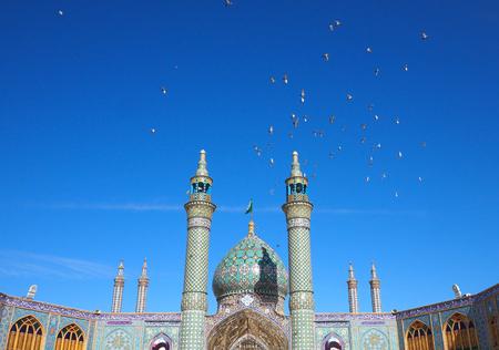 Shrine of Hilal ibn Ali in Aran va Bidgol city, Iran Stock Photo