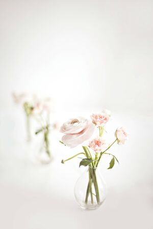 Romantic wedding concept. Holiday floral background. Selective focus. Stock fotó
