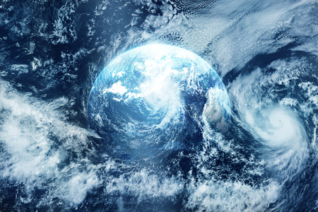 strom: Strom on the earth view from space