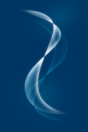 cuve: Abstract Blue Background illustration Stock Photo