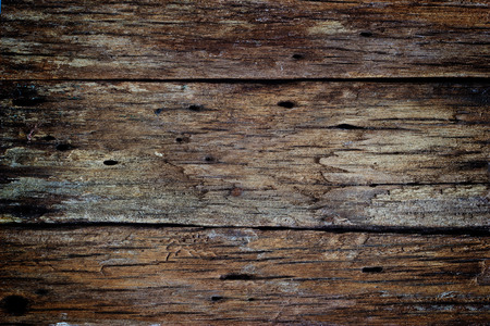 Old dark wood rotten texture