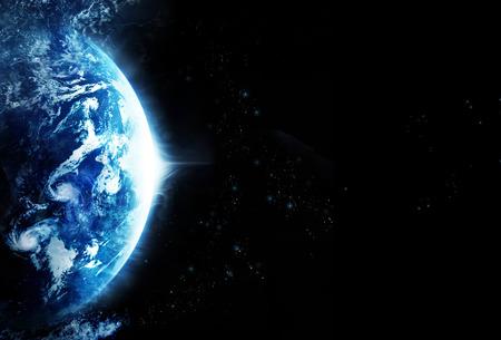 planeten: Sturm auf dem Planeten Erde, leere Text - Original Bild von NASA.gov