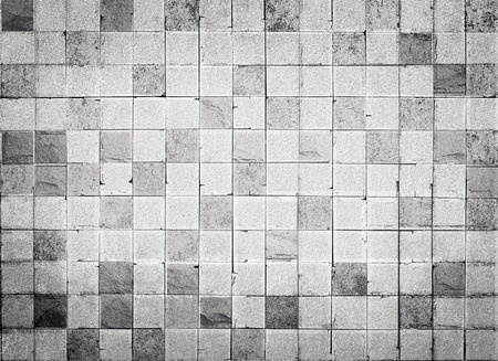 tile: Grunge style concrete tile wall texture and background Stock Photo