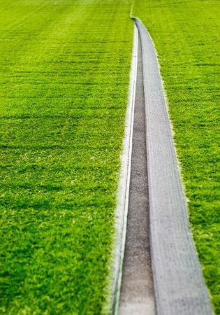 soft   focus: Open under artificial turf, floor soccer grass field, soft focus