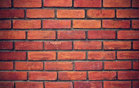 red brick: grunge red brick wall background