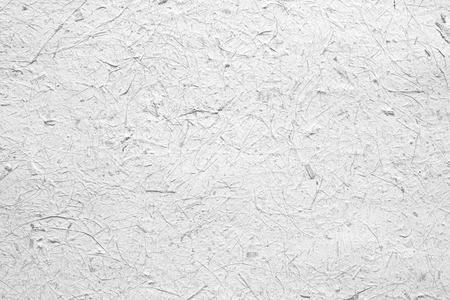 Fondo blanco de la textura del papel, la materia prima y áspero Foto de archivo