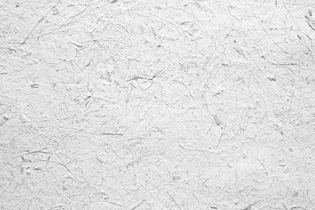 raw materials: White paper texture background, raw and rough material Stock Photo