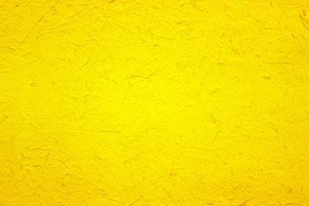 geel papier textuur voor de achtergrond Stockfoto