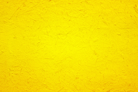 yellow paper texture for background 免版税图像
