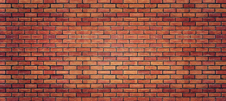 the red wall: Red brick wall texture for background