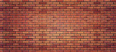 Rode bakstenen muur textuur voor de achtergrond