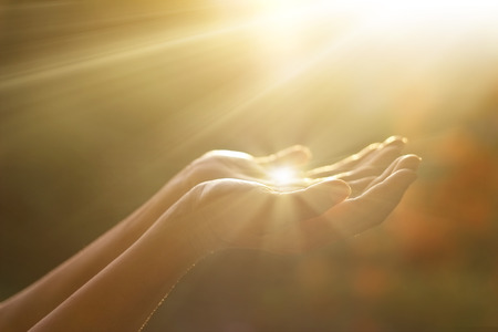preguntando: El respeto y la oración en el fondo la naturaleza
