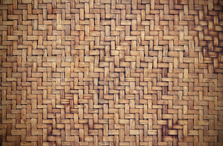 weave: Grunge old bamboo texture background