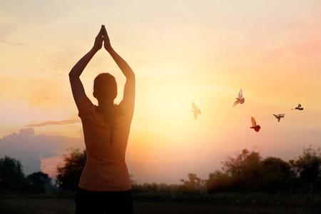 Respetar y orar sobre la naturaleza