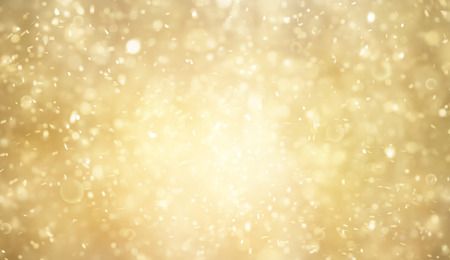 Abstract gold and bright glitter for background Stock Photo